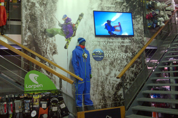 Magasin ESPACE MONTAGNE ANNECY / EPAGNY