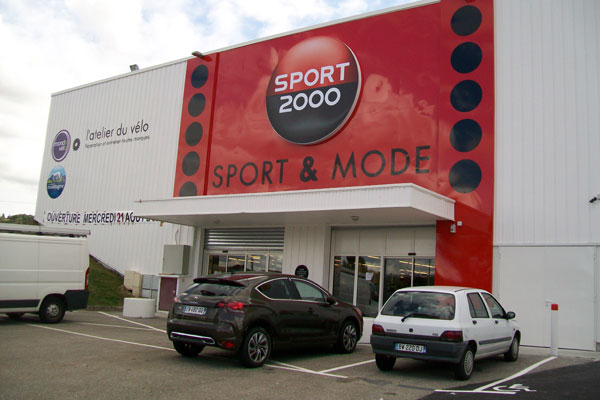 Magasin SPORT 2000 BOURGOIN JAILLEU